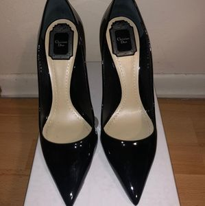 Christian Dior Patent Leather Heels Size 9 & GWP